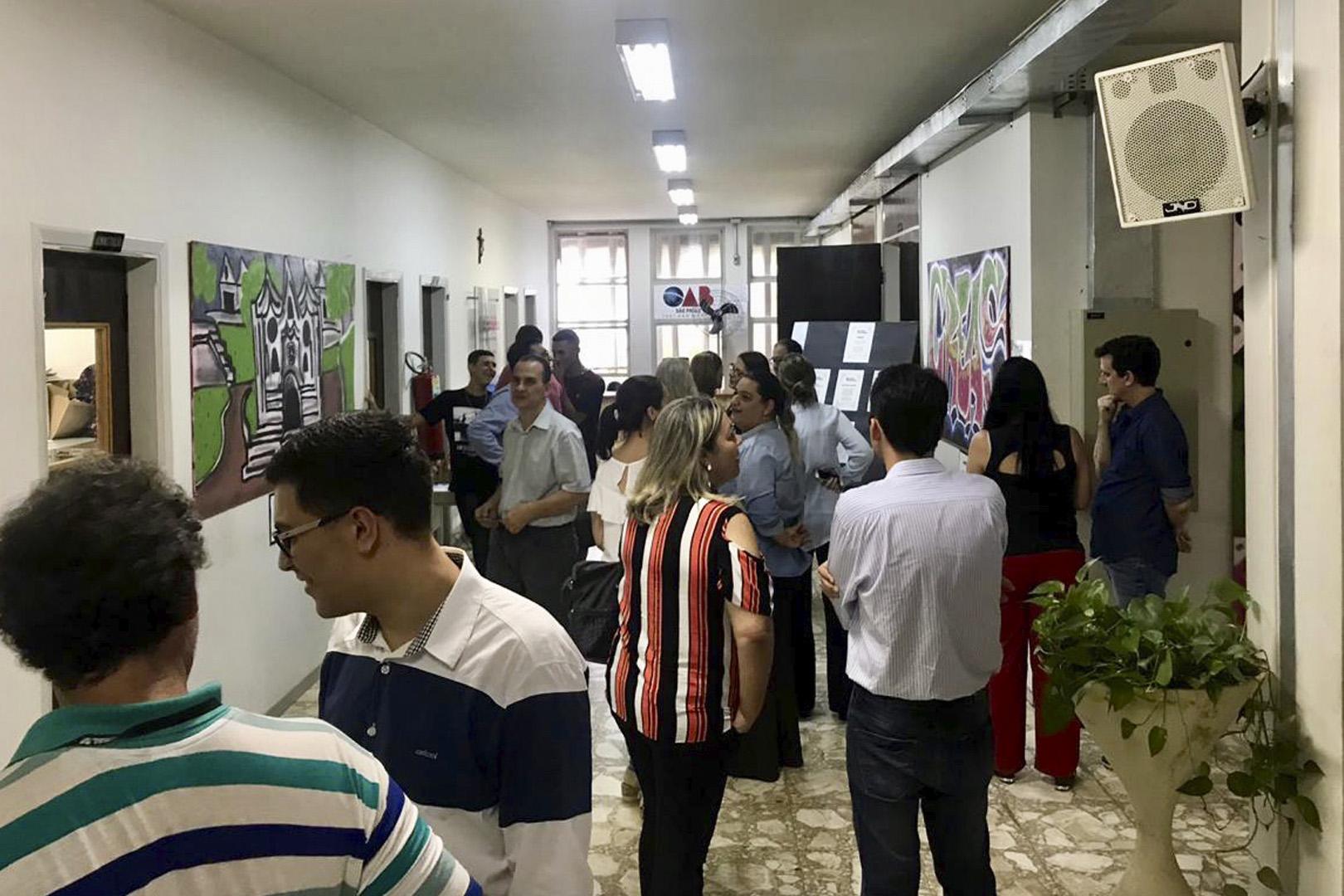 """Comarca de São Manuel recebe a exposição """"Expressão do Recomeço"""""""